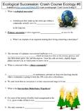 Crash Course Ecology #6 (Ecological Succession) worksheet