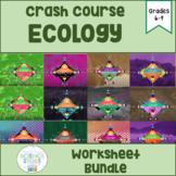 Crash Course Ecology Video Worksheet- BUNDLE