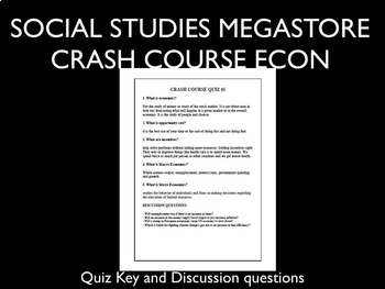 Crash Course Economics Fiscal Policy Ep. 8