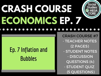 Crash Course Economics Inflation and Bubbles and Tulips Ep. 7