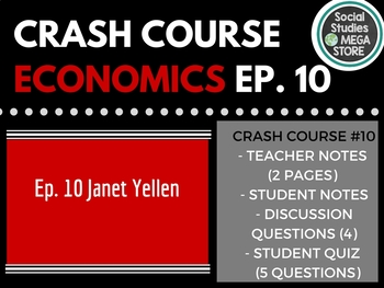 Crash Course Economics Monetary Policy and the Federal Reserve Ep. 10