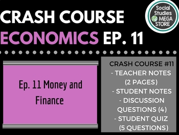 Crash Course Economics Money and Finance Ep. 11