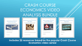 Crash Course Economics Video Analysis Bundle