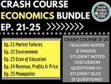 Crash Course Economics Worksheets Ep. 21-25