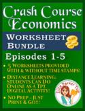 Crash Course Economics Worksheets Episodes 1-5