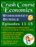 Crash Course Economics Worksheets Episodes 11-15