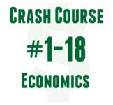 Crash Course Economics worksheets with keys #1-18