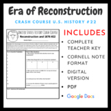 Crash Course U.S. History: Era of Reconstruction and 1876  #22