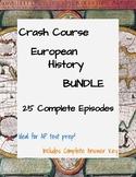 Crash Course European History #1-25 BUNDLE (AP test prep,