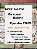 Crash Course European History #21-25 (French & Industrial