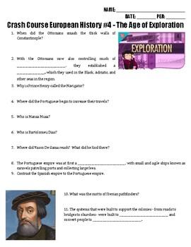 Crash Course European History #4 - The Age of Exploration