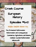 Crash Course European History #6-10 (Reformation, Slavery,