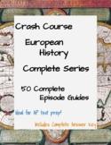 Crash Course European History COMPLETE SERIES - 50 Episode Guides