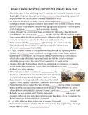 Crash Course European History: English Civil War Video Guide