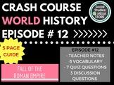 Crash Course Fall of Rome Ep. 12