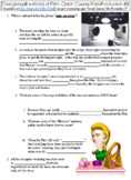 Crash Course Film Production #9 (Designing the World of Film) worksheet