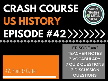 Crash Course Ford, Carter and the Economic Malaise Ep. 42
