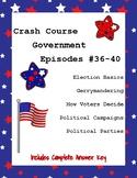 Crash Course Government #36-40 (Elections, Gerrymandering, Political Parties)