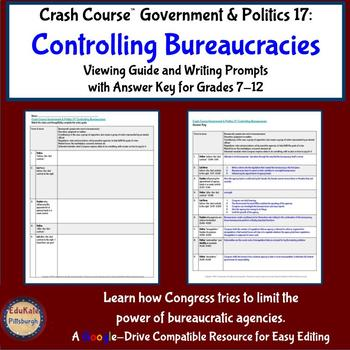 Crash Course Government & Politics 17: Controlling Bureaucracies