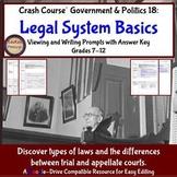 Crash Course Government & Politics 18: Legal System Basics