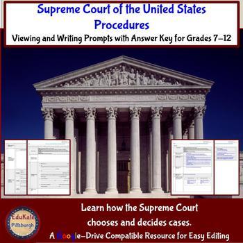 Crash Course Government & Politics 20: Supreme Court Procedures