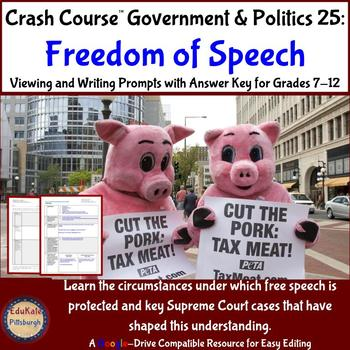 Crash Course Government & Politics 25: Freedom of Speech