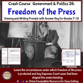 Crash Course Government & Politics 26: Freedom of the Press