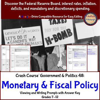 Crash Course Government & Politics 48: Monetary and Fiscal Policy