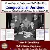 Crash Course Government and Politics #10: Congressional Decisions