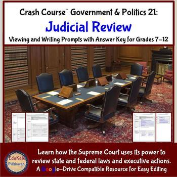 Crash Course Government and Politics 21: Judicial Review