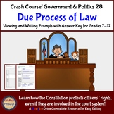 Crash Course Government and Politics #28: Due Process of Law