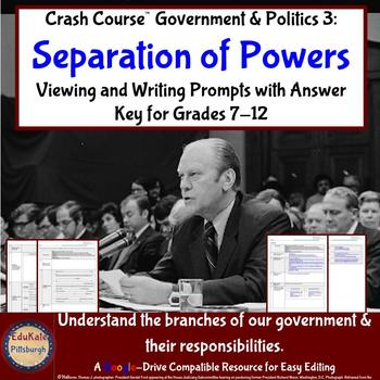 Crash Course Government and Politics #3: Separation of Powers