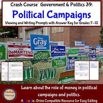 Elections: Political Campaigns: Crash Course Government and Politics 39