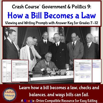 Crash Course Government and Politics #9: How a Bill Becomes a Law