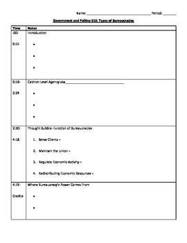 Crash Course Government and Politics: Bureaucracy Series