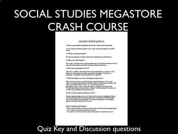 Crash Course Government and Politics Ep. 1