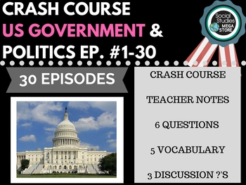 Crash Course Government and Politics Ep. 1-30