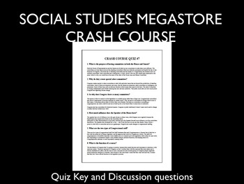 Crash Course Government and Politics Ep. 1-40