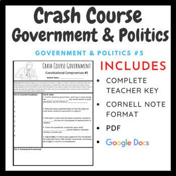 Crash Course: Government and Politics Episodes 1-5