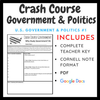 Crash Course: Government and Politics Episodes 1-5