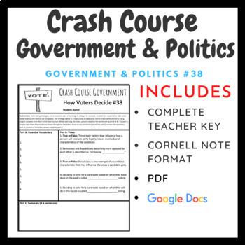 Crash Course: Government and Politics Episodes 35-50
