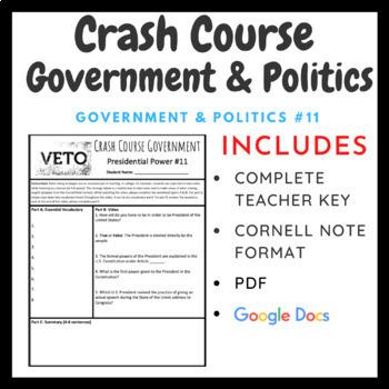 Crash Course: Government and Politics Episodes 6-20