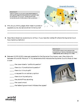 Crash Course Government and Politics Video Guide 19: Structure of Court System
