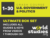 "Crash Course  Government and Politics Video Guide ""Box Set"" Episodes  1-30"