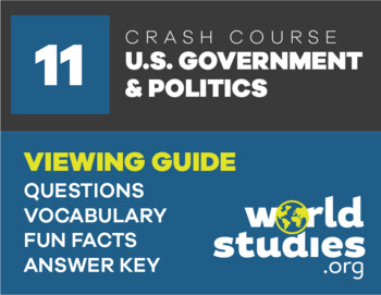 Crash Course Government and Politics Video Guide Ep. 11: Presidential Power