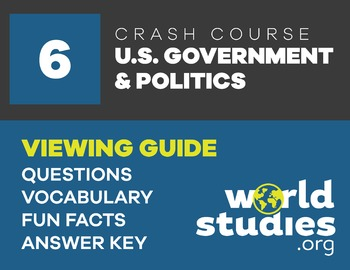 Crash Course  Government and Politics Video Guide Ep. 6: Congressional Elections