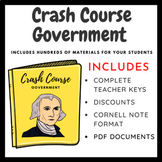 Crash Course: Government & Politics-Viewing Guides for All Episodes (Bundle)