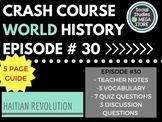 Crash Course Haitian Revolution Ep. 30