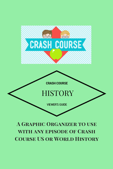 Crash Course History (US or World) Viewer's Guide and Graphic Organizer