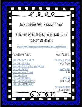 Crash Course History of Theater & Drama #1-25 BUNDLE
